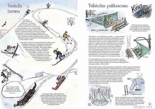 , keywords:  Villiä elämää lastenkirja luonto-opas eräopas talvi hiihto yöpyminen