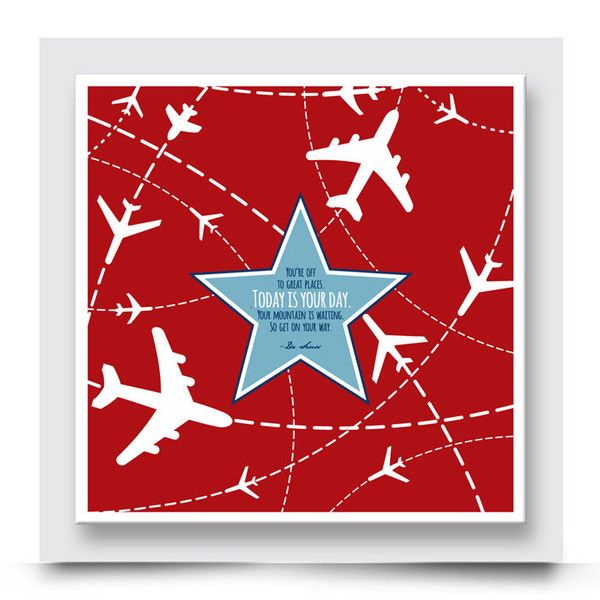 SHOOTING STAR wall art comes printed on stretched canvas or box framed & can be personalised. This contemporary artwork with a Dr Seuss quote compliments the other designs in the Graphic Planes Collection and is perfect for decorating the walls of a boys' nursery, bedroom or playroom. Order your art print from http://www.madicleo.com/collections/wall-art-for-boys-rooms