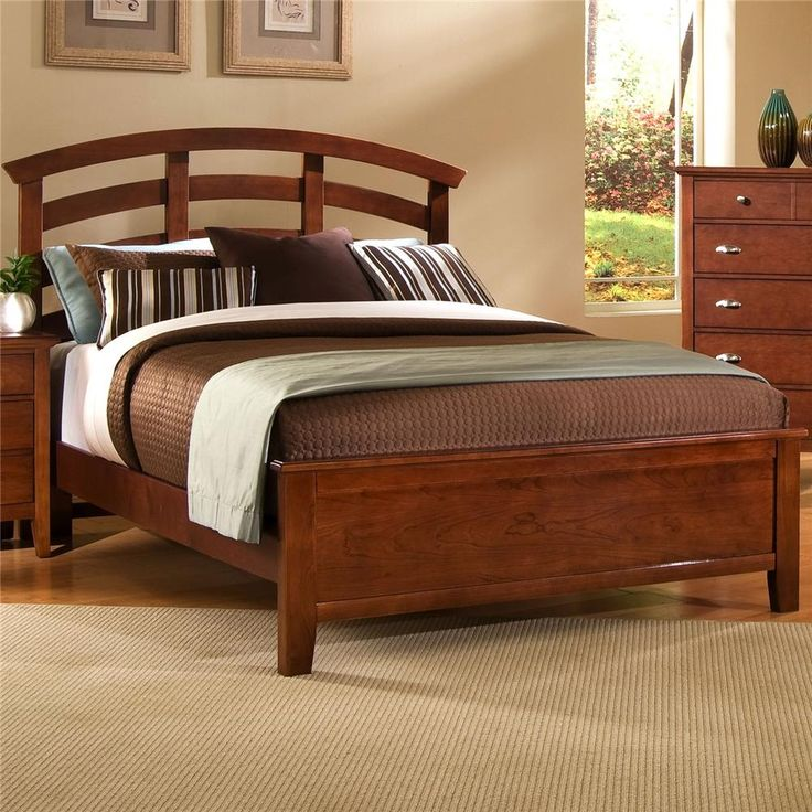 Twilight king arch headboard bed by vaughan bassett new for Bedroom furniture in zanesville ohio