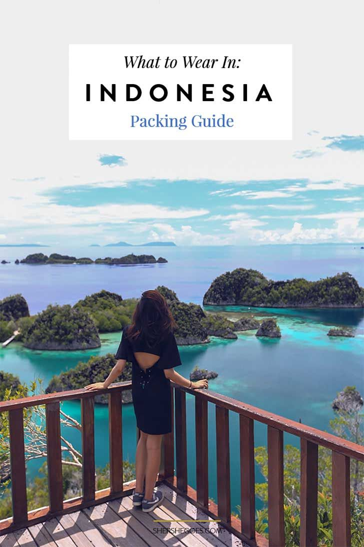 A complete guide for what to wear and pack for Indonesia, the world's largest muslim country.
