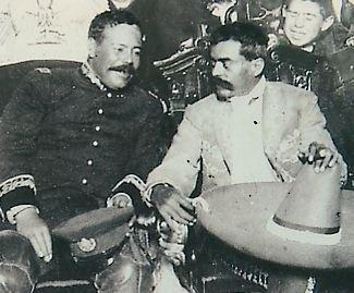 Los dos grandes de la Revolución Mexicana (1910), Emiliano Zpata y Pancho Villa....La tierra es de quien la trabaja!!!