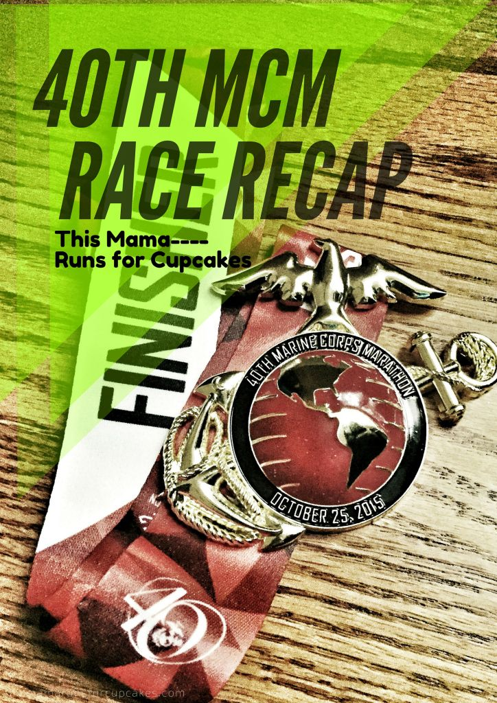 40th Marine Corp Marathon Race Recap