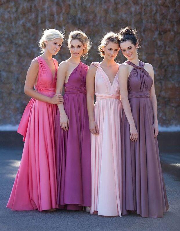 Ombre #bridesmaiddresses - Start planning your wedding www.myweddingconcierge.com.au