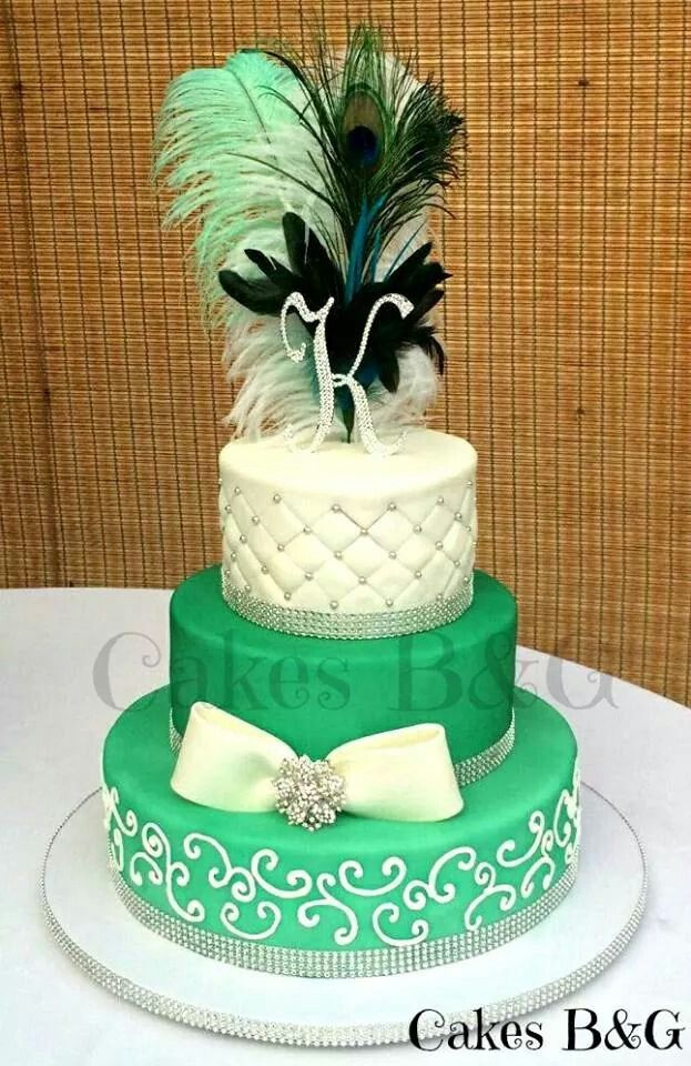 blue green wedding cakes 17 best images about blue green brown cakes on 11989