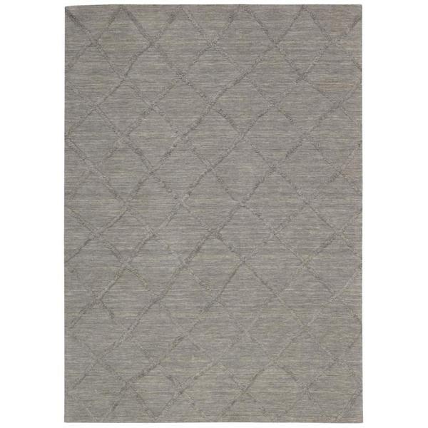 Nourison Lunette Silver Rug (8' x 10')