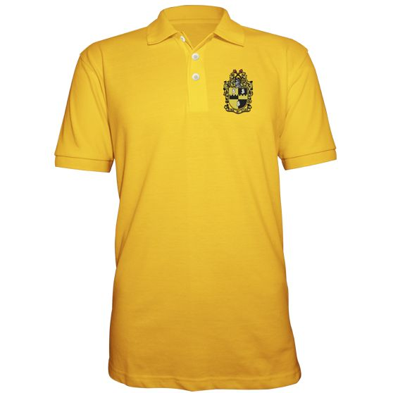 Alpha Phi Alpha Embroidered Crest Polo