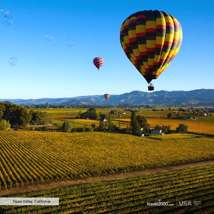 Napa Valley, California #itravel2000 #DiscoverAmerica