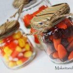 Baby Food Jars to Candy Jars
