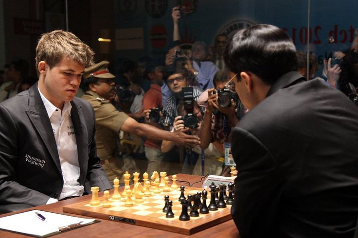 Who is the current Chess World Champion?   A. Vishy Anand  B. Magnus Carlsen