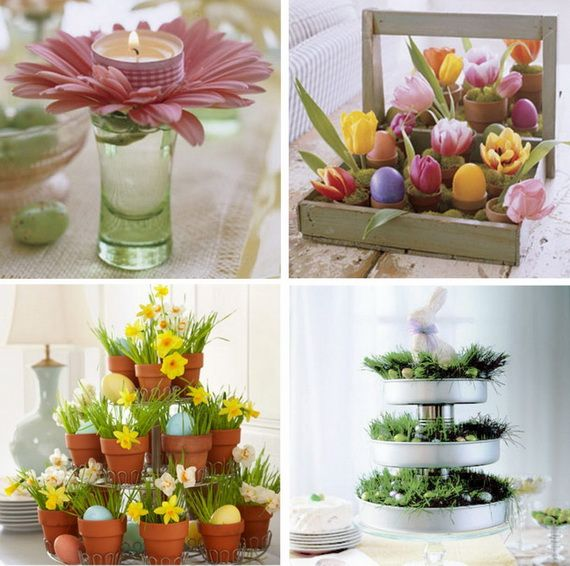 Easter Holiday Kitchen Decorations
