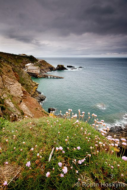 Lizard Point, Cornwall, UK by [[BIOSPHERE]], via Flickr. The most southerly point in Britain