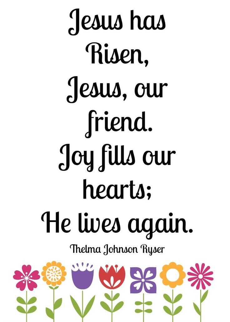 R & R Workshop: Jesus has Risen {Free Printable}