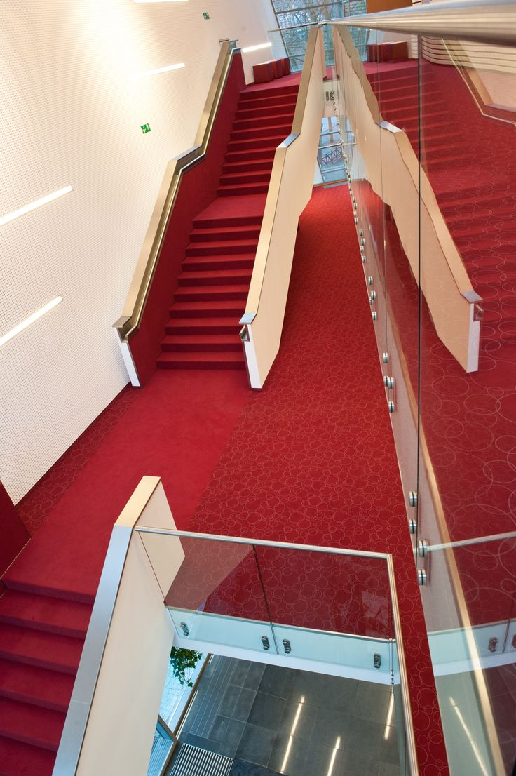 Stairs in Koszalin Filharmony Vorwerk Carpets