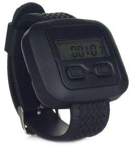APE 6600 - tragbare Armbanduhr-Empfänger (ohne Quittierungsfunktion). Dieser Empfänger kann das Signal direkt vom Rufknopf empfangen. Voll kompatibel mit allen Rufknöpfe. Integrierte Anzeige der Uhrzeit.APE 6600 bietet in Kombination mit dem Rufknopf viele verschiedene Lösungen. Zum Beispiel: Rufen des Kellners durch den Gast oder Rufen des Kellners in die Küche für den nächsten Gang oder Rufen des Kellners in den Konferenzraum des Hotels. Mit dem Armbanduhr-Pager brauchen Sie keine ...