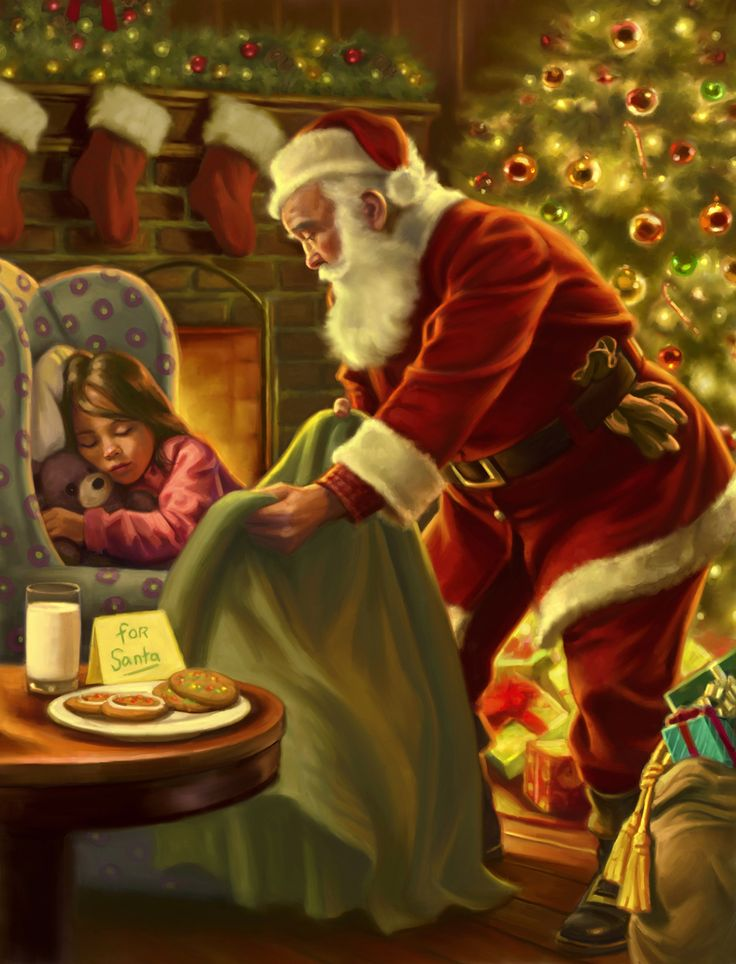 Cookies For Santa - Gregory Copeland artist