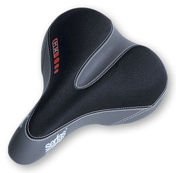 Serfas DDL-200 Women's Dual Density Saddle - yes, it is as amazing as it looks.