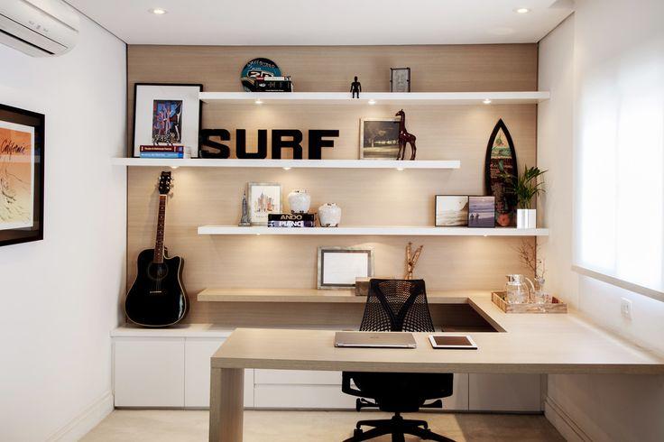 Apartamento Vila Olímpia : Escritórios modernos por Helô Marques Associados