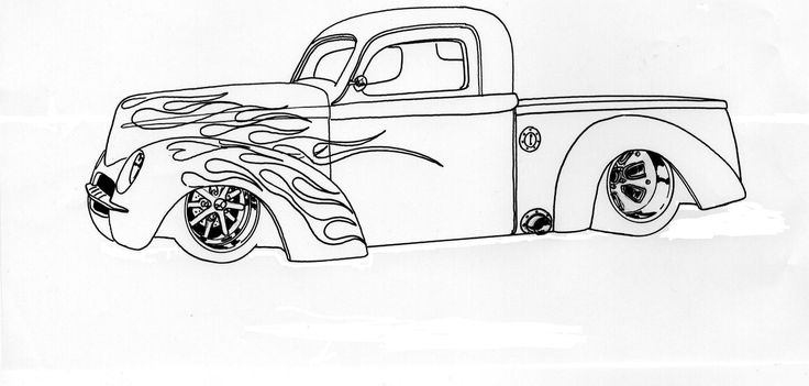 Pin by Alex Flint on Car Coloring Pages (With images