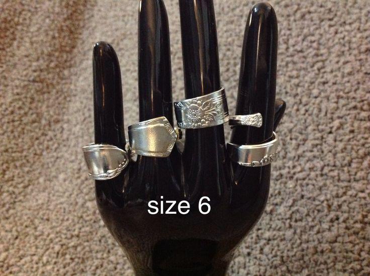Silver Spoon rings $33