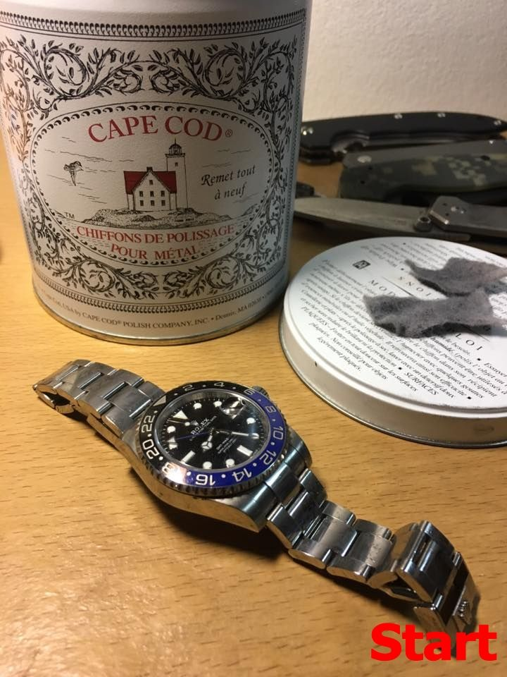 [CR] รีวิว ผ้าขัดรอยโลหะ Cape Cod กับสายนาฬิกา | Pantip