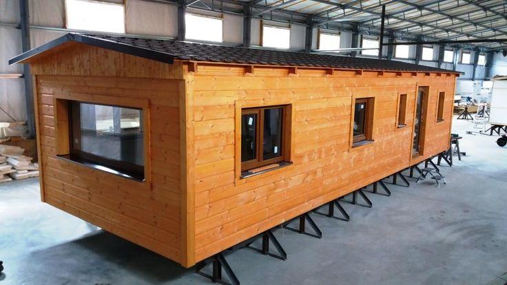 Další námi celoročně zateplený dřevěný mobilheim je připravený na cestu ke svému majiteli. Další informace o tom, jak připravujeme dřevěné celoroční mobilní domy naleznete na http://www.mobilnidum.eu/mobilni-domy-celorocni