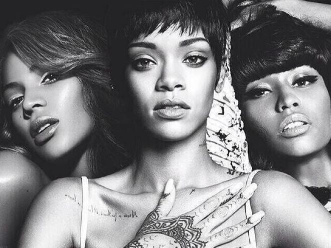 If only Beyoncé, Nicki Minaj, and Rihanna formed a Supergroup diva trio...these pictures are almost too much to handle.