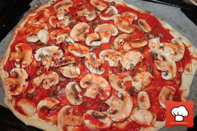 Быстрое тесто для пиццы от Джейми Оливера