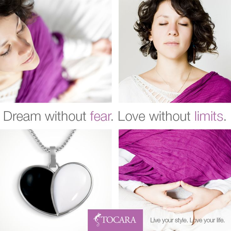 Dream without fear. Love without limits. The perfect gift for Valentines day!