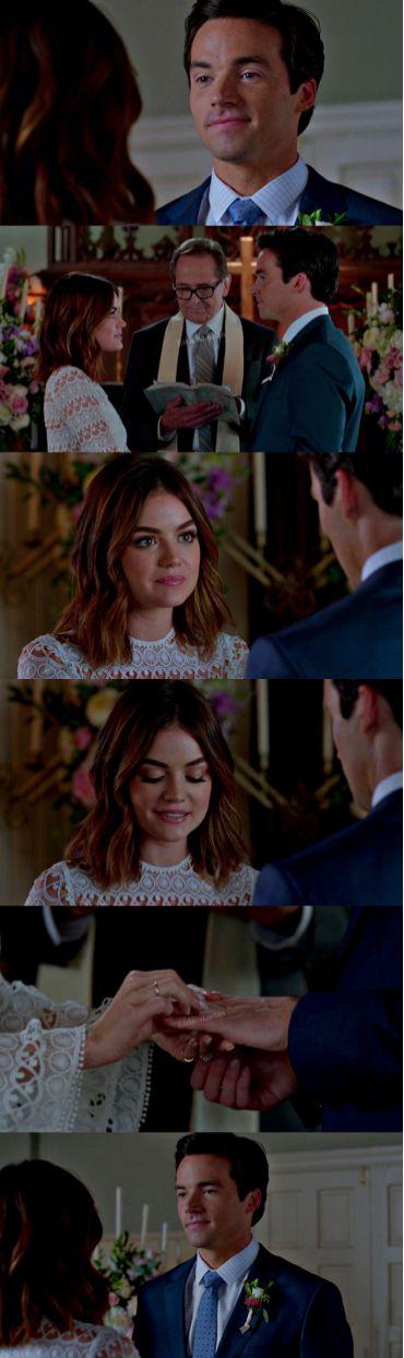 """Pretty Little Liars"" - Ezra & Aria wedding"