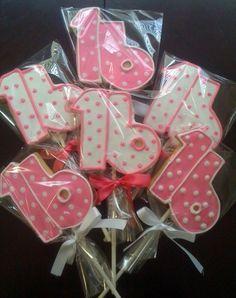 Sweet 16 Birthday Cookies