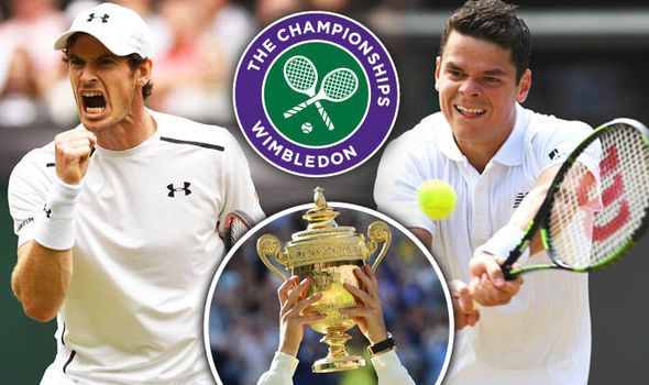 Andy Murray v Milos Raonic: LIVE updates as Murray aims to win second Wimbledon title