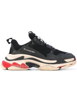 dictador evitar otoño  Balenciaga 'Triple S' Sneakers - Farfetch | Balenciaga schuhe herren, Balenciaga  schuhe, Freizeitschuhe herren
