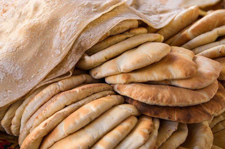 Khubz - Arabisches Brot