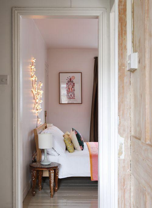 Chambre murs pastels