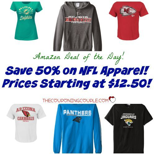 Are you ready for some football? Hot Buy on NFL Apparel! Tees, Hoodies and more! Starting at $12.50 shipped!  Click the link below to get all of the details ► http://www.thecouponingcouple.com/save-50-on-nfl-apparel-as-low-as-12-50/  #Coupons #Couponing #CouponCommunity  Visit us at http://www.thecouponingcouple.com for more great posts!
