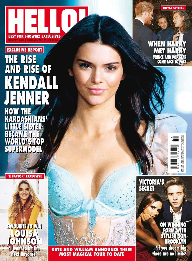 Kendall Jenner – Hello UK Magazine (November 2015)