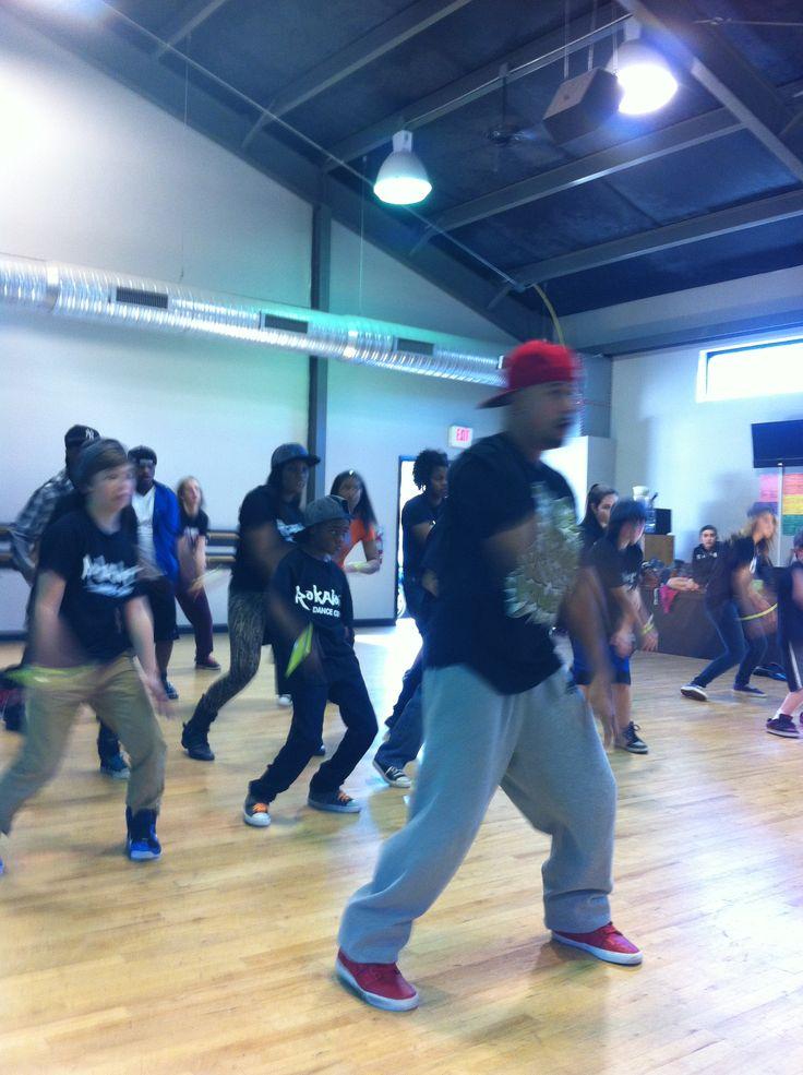 Fuzion Force Master Hip Hop Class w/ Chuck Maldonado