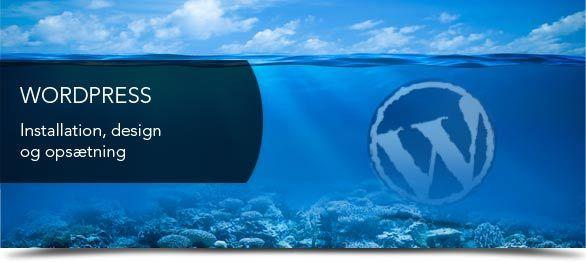 Vi laver flere og flere flotte Wordpress hjemmesider.