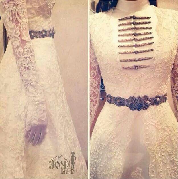 Chechen wedding dress ^^