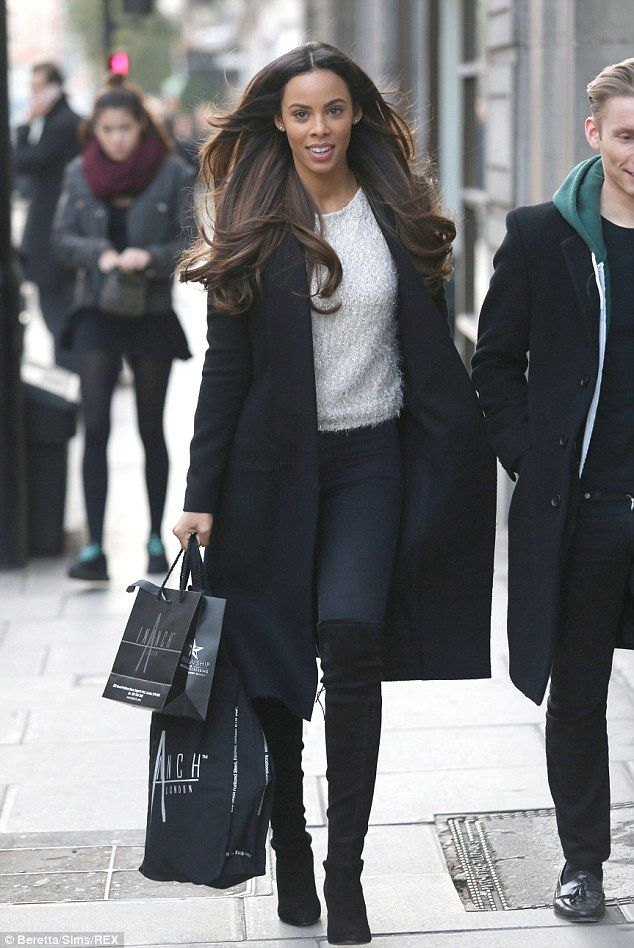 She's worth it: The star had visited the salon to have her perfectly coiffed locks kept in...