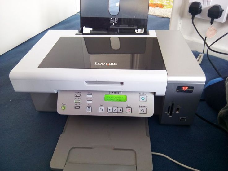 Lexmark X4550 All-in-One Inkjet Printer PAYPALFIRST then COLLECTION ONLY BARGAIN