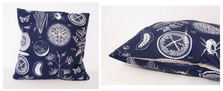 Sketchy Nature pillow cover, for sale @ https://www.breslo.ro/GabrielaBobu/