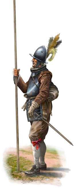 Pablo Outeiral - Piquero holandés, segunda mitad del siglo XVI.