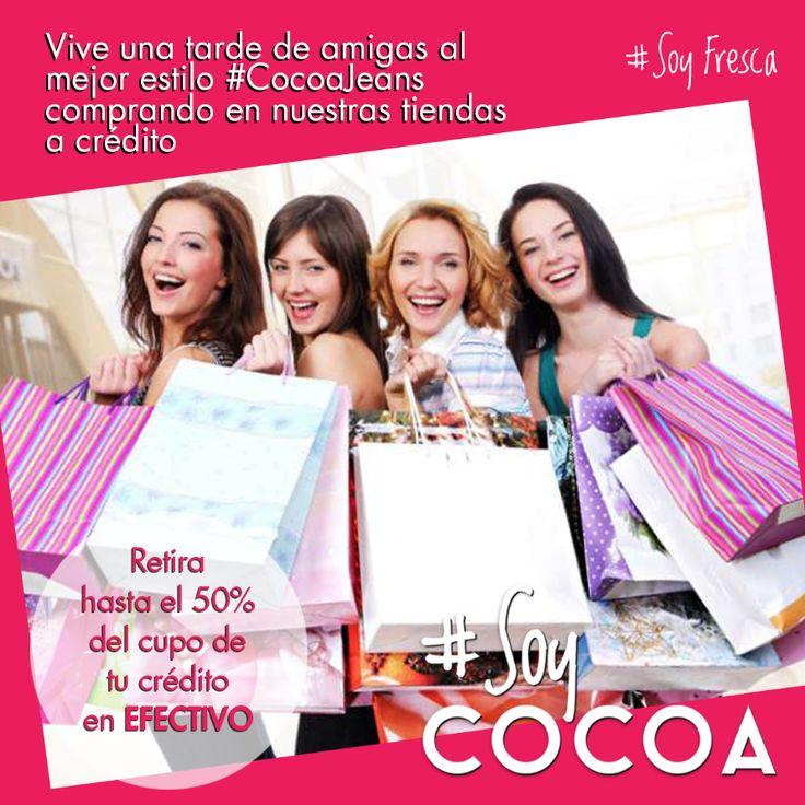 Tarde de amigas al mejor estilo @cocoajeans #SoyFresca #SoyCompradora #SoyCocoa