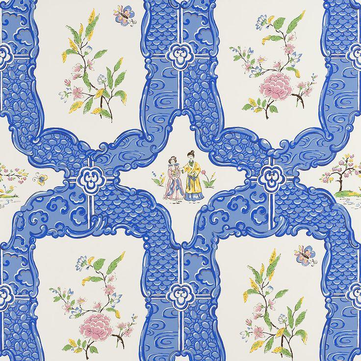 Chinoiserie Wallpaper Panels, Murals and Chinoiserie