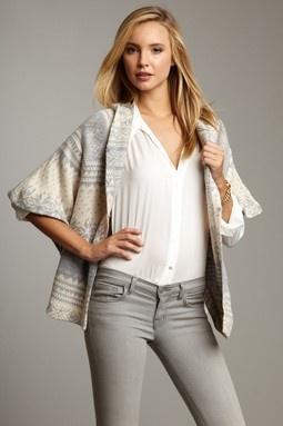 Short Sleeve Hooded Open Cardigan