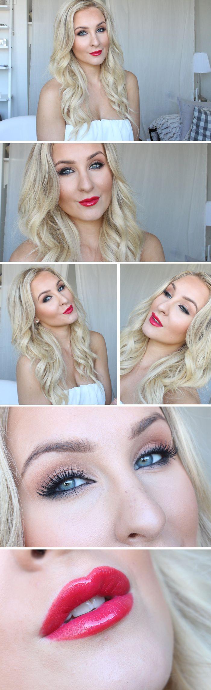 Dagens makeup – Hayden Panettiere sotade ögon och starka läppar | Helen Torsgården – Hiilens sminkblogg