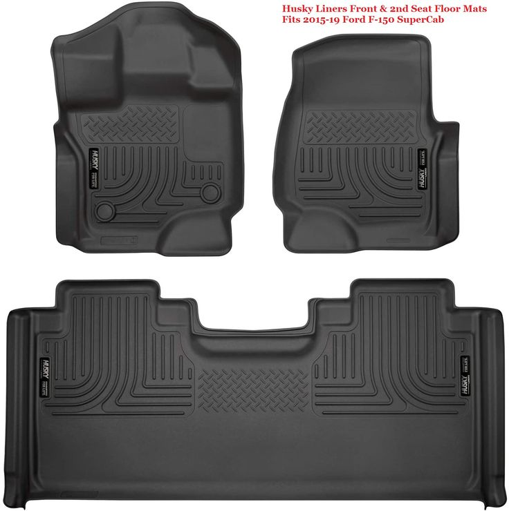 Car floor mats made in the USA, Husky Liners 94051 Black