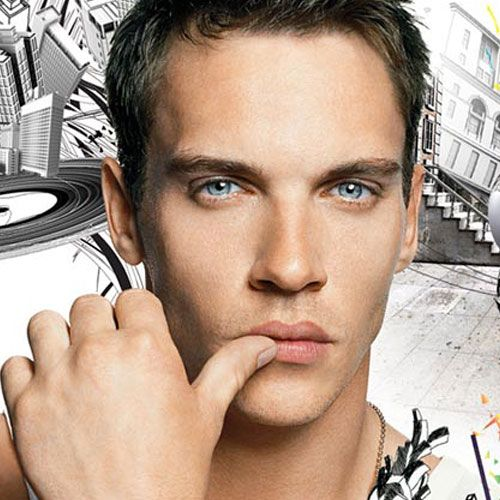 Johnathan Rhys Meyers....I know when we watched August rush..we became his fans! Lol