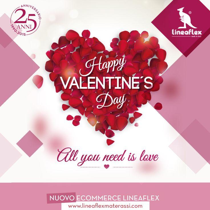 #lineaflex Vi Augura un #felice e #romantico San Valentino!!! ... Non dimentichiamo.. Buon Onomastico a tutte/i Valentina & Valentino! #buon #sabato #amici #happyvalentinesday
